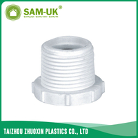 PVC threaded bushing for water supply Schedule 40 ASTM D2466