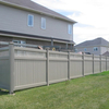 Privacy fence with top lattice DY002