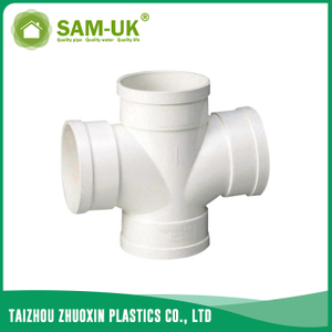PVC waste double wye for drainage water