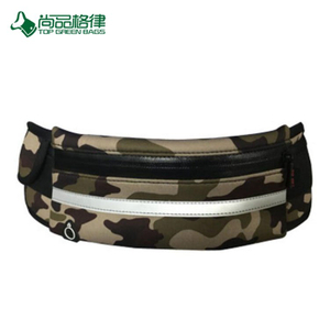Custom 2017 New Style Waterproof Camouflage Pattern Running Fashion Sports Waist Bag