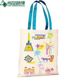 Custom Recyclable Cheap Printed Shopping Bags Wholesale (TP-SP057)
