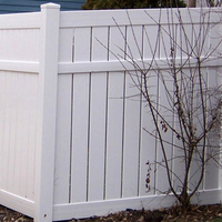 Vinyl Semi-Privacy Fence DY102