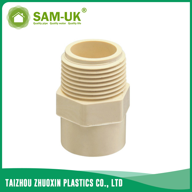 CPVC male adapter for water supply Schedule 40 ASTM D2846