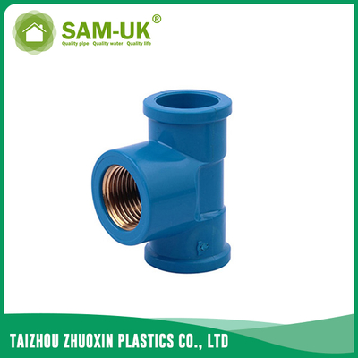 PVC female brass tee socket x BSPT NBR 5648
