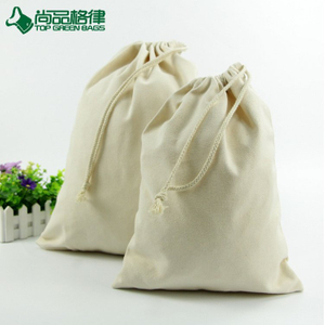 Promotional Wholesale Custom Small Cotton Drawstring Bag (TP-DB315)