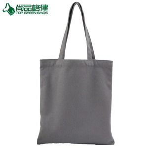 Heavy duty cotton canvas shopping toe bag for wholesale (TP-SP635)