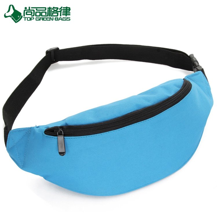 Hot Selling Running Waist Pouch Sports Waist Bag Single Pocket for Hiking Fitness (TP-WTB056)