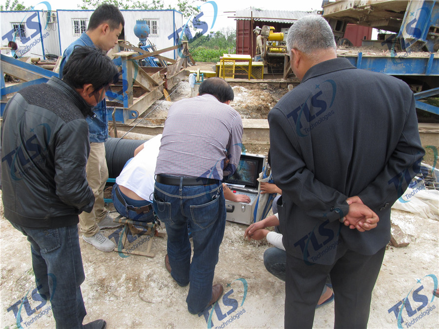 TLS Technologies Borehole Inspection Camera Application Case-Shaanxi 139 hydrological team logging field-08