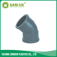 PVC 45 deg elbow NBR 5648