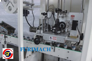 FR-TB200 Automatic Sleeve Tape Labeling & Packing Machine