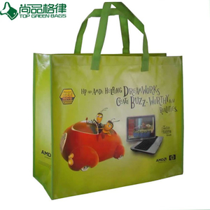 Promotion Laminated Nonwoven Carrier Gift Tote (TP-LB294)