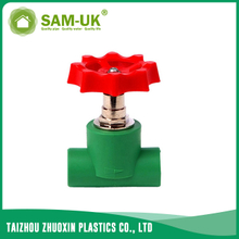 PPR heavy stop valve for both hot and cold water