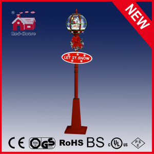(LV30175E-RGR11) Festival Holiday Street Lamp LED Lights with Lace Decorations