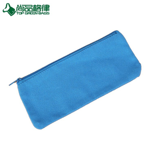 Promotional Cheap Canvas Pencil Bags Student Canvas Coin Bags (TP-PCB052)