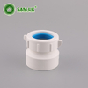 1-1/2 Inch Plastic Schedule 40 PVC Trap Adapter for Water Drain