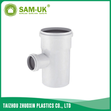 PVC sewer reducing tee for drainage water NBR 5688