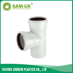 PVC sewer socket tee for drainage water NBR 5688