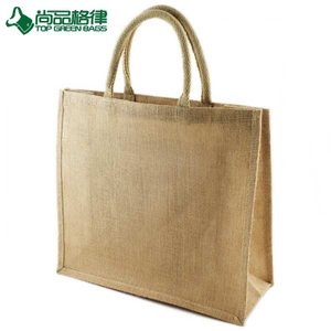 Hotsale Grocery Shopping Tote Jute Bags for Promotional (TP-SP651)
