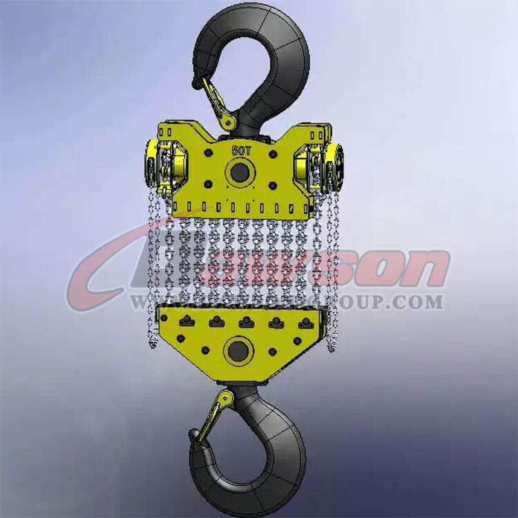 DAWSON 50T Heavy Duty Lifting Chain Block, Chain Hoist