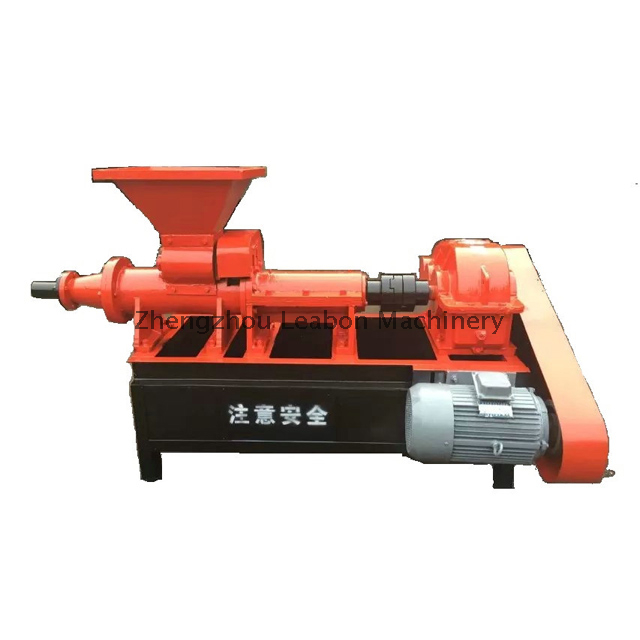 Charcoal Coal Briquette Making Machine with Charcoal and Coal Powder