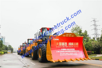 XCMG wheel loader, China No.1 brand of loader export