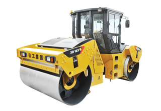 Double Wheel Road Roller XD123