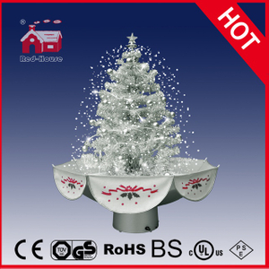 (18030U075-SS) All White Romantic Christmas Gifts Beautiful Christmas Tree