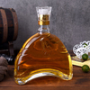500ml Glass Whisky Bottle with Glass Top