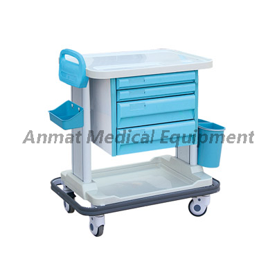 Multi-Purpose adjustable mobile ABS treatment trolley