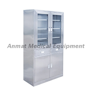 Stainless steel hospital Instrument Cabinet china medical