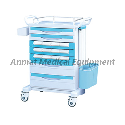 Hospital Crash Cart for Mobile Medicine Trolley