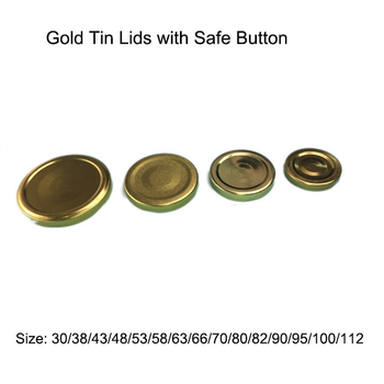 Golden Tin Lids