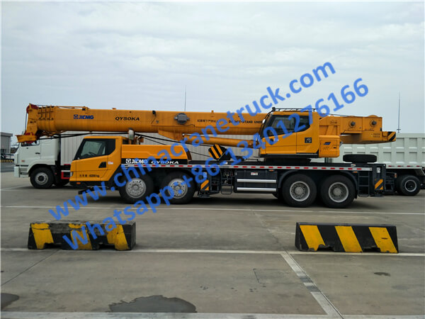 XCMG 50 ton heavy hydraulic truck crane QY50KA from China