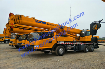 Customer order XCMG 25 ton right hand drive truck crane