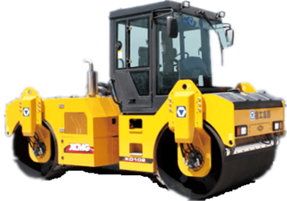 Double Wheel Road Roller XD102