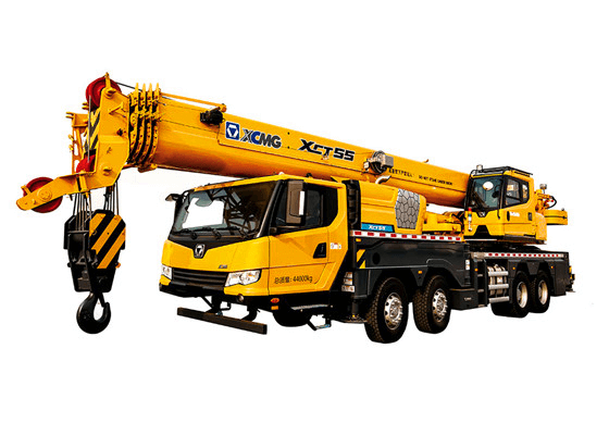 XCMG 55 ton new knuckle boom crane truck XCT55
