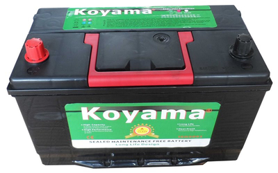 Koyama Silver Power Lead Calcium Maintenance Free Car Battery 30H90R-12V90Ah
