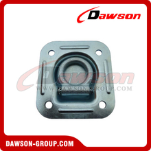 "PPE-2 BS 2720kgs/6000lbs 2"" Rectangle Floor Pan Fitting Round Hole, Anchoring Fitting Single"