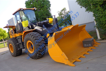 Customer order XCMG 5 ton wheel loader LW500FN