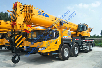 Customer order 80 ton truck crane model XCT80