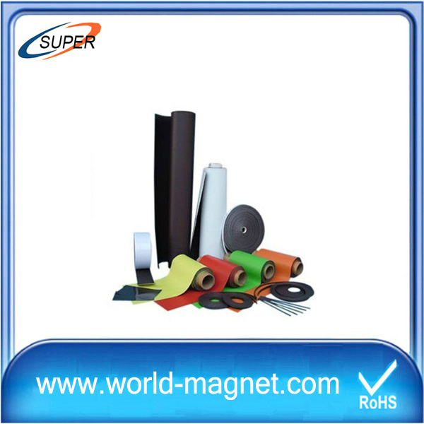 Professiona Cheap Rubber Magnet Strip with Self-adhesive