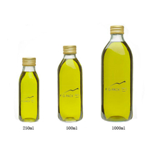 250ml Quadra Glass Bottles