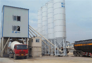 Fast Moving Mixing Plant