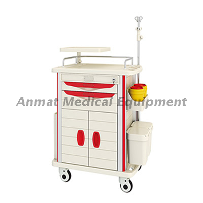 hospital patient nursing ABS emergency trolley price