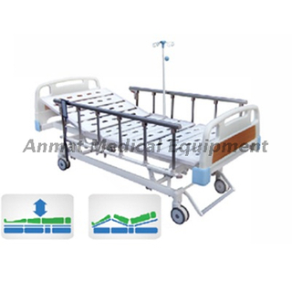 Aluminum side rail with Basic 3 function Electric Medical Hospital Bed for sale