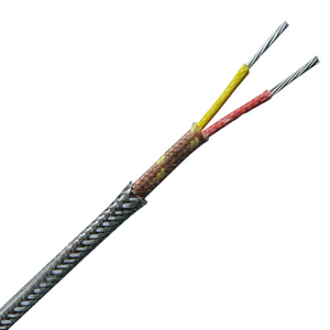 Stainless steel overbraid thermocouple wire special limit of error