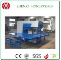 Honeycomb paperboard toothless band saw