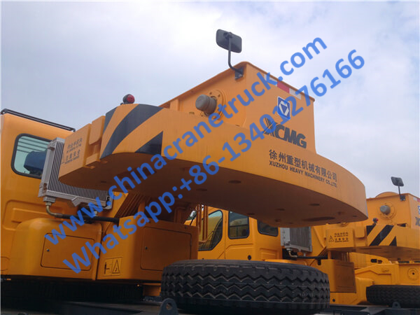 XCMG 50 ton mounted pickup heavy truck crane QY50KA from