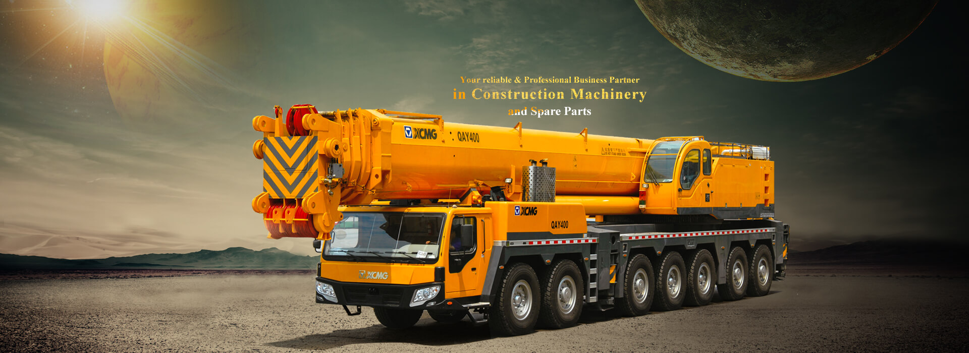 china all terrain crane