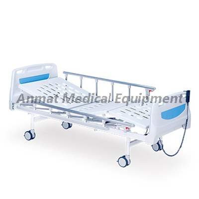 ABS Headboard Two Function Side Rail Hospital Bed